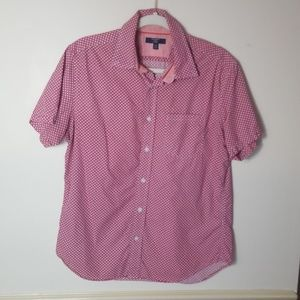 Mens Banana Republic Milly collection medium shirt